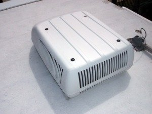 RV Air Conditioner Repair Picture